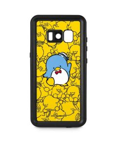 Tuxedosam Yellow Cluster Galaxy S8 Waterproof Case
