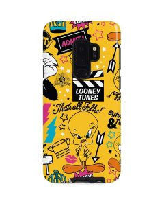 Tweety and Sylvester Patches Galaxy S9 Plus Pro Case