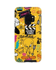 Tweety and Sylvester Patches Galaxy S9 Pro Case