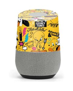 Tweety and Sylvester Patches Google Home Skin