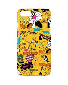 Tweety and Sylvester Patches iPhone 8 Lite Case