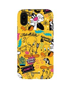 Tweety and Sylvester Patches iPhone XR Pro Case