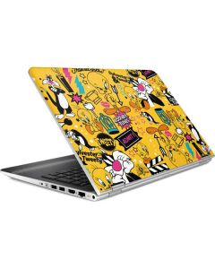 Tweety and Sylvester Patches HP Pavilion Skin