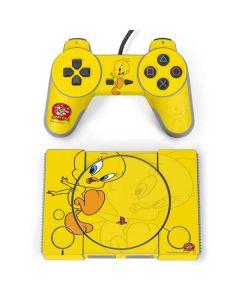 Tweety Bird Double PlayStation Classic Bundle Skin