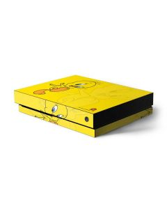 Tweety Bird Double Xbox One X Console Skin