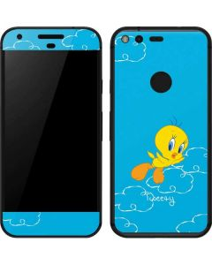Tweety Bird Flying Google Pixel Skin