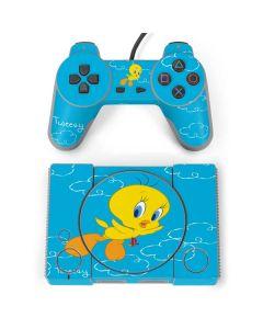 Tweety Bird Flying PlayStation Classic Bundle Skin