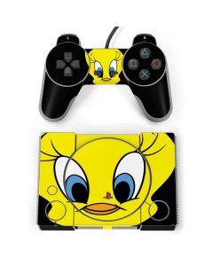 Tweety Bird PlayStation Classic Bundle Skin