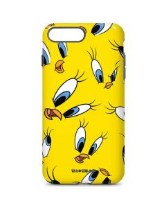 Tweety Bird Super Sized Pattern iPhone 8 Plus Pro Case