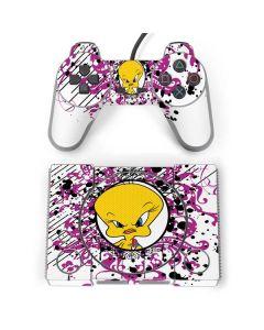 Tweety Bird with Attitude PlayStation Classic Bundle Skin