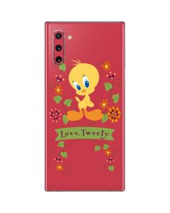 Tweety Embroidered Galaxy Note 10 Skin