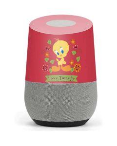 Tweety Embroidered Google Home Skin