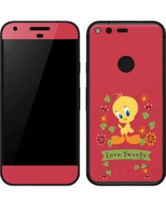 Tweety Embroidered Google Pixel Skin