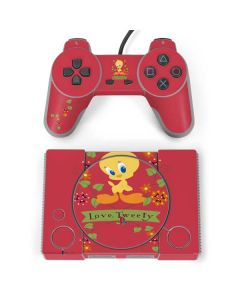 Tweety Embroidered PlayStation Classic Bundle Skin