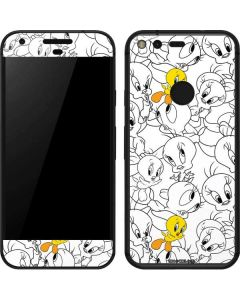 Tweety Super Sized Pattern Google Pixel Skin
