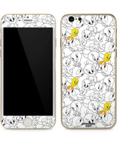 Tweety Super Sized Pattern iPhone 6/6s Skin