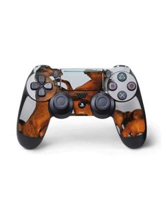 Two Stallions at a Wild Horse Conservation Center PS4 Pro/Slim Controller Skin