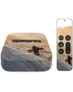 TransWorld SNOWboarding Sunset Apple TV Skin