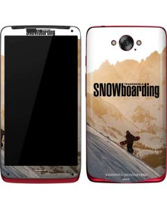 TransWorld SNOWboarding Sunset Motorola Droid Skin
