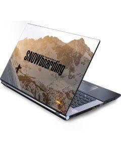 TransWorld SNOWboarding Sunset Generic Laptop Skin