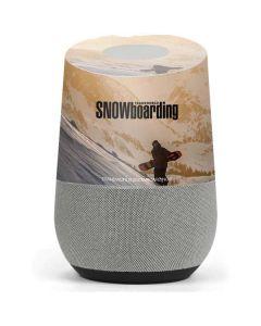 TransWorld SNOWboarding Sunset Google Home Skin