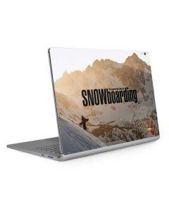 TransWorld SNOWboarding Sunset Surface Book 2 13.5in Skin