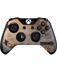 TransWorld SNOWboarding Sunset Xbox One Controller Skin