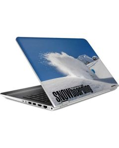 TransWorld SNOWboarding Shred HP Pavilion Skin