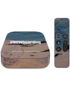 TransWorld SNOWboarding Shadows Apple TV Skin