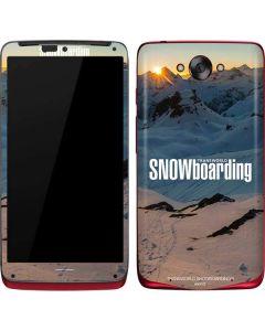 TransWorld SNOWboarding Shadows Motorola Droid Skin