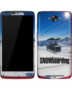 TransWorld SNOWboarding Lift Motorola Droid Skin