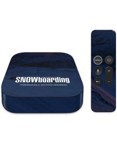 TransWorld SNOWboarding Dark Apple TV Skin