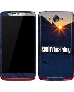 TransWorld SNOWboarding Dark Motorola Droid Skin