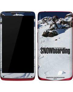 TransWorld SNOWboarding Mountain Motorola Droid Skin
