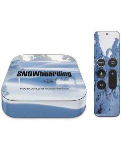 TransWorld SNOWboarding Trees Apple TV Skin