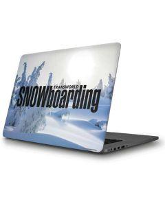 TransWorld SNOWboarding Trees Apple MacBook Pro Skin