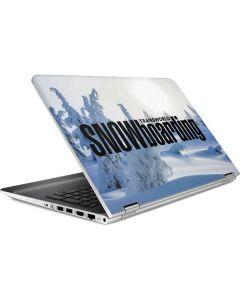 TransWorld SNOWboarding Trees HP Pavilion Skin