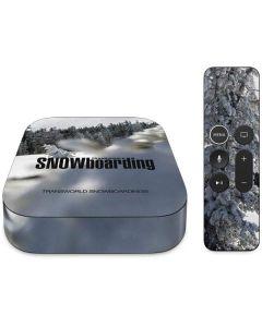 TransWorld SNOWboarding Peaking Apple TV Skin
