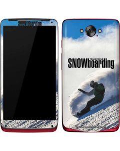 TransWorld SNOWboarding Rider Motorola Droid Skin
