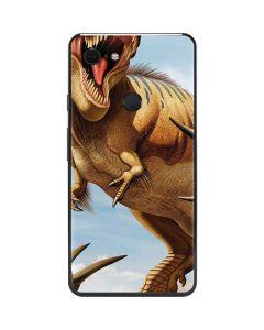 Tyrannosaurus Rex Fighting with Two Triceratops Google Pixel 3 XL Skin