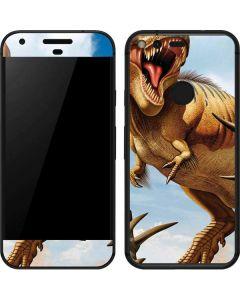 Tyrannosaurus Rex Fighting with Two Triceratops Google Pixel Skin
