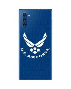 U.S. Air Force Courage and Honesty Galaxy Note 10 Skin
