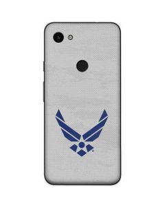 U.S. Air Force Logo Grey Google Pixel 3a Skin