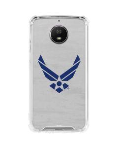 U.S. Air Force Logo Blue Moto X4 Skin