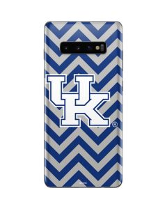 UK Kentucky Chevron Galaxy S10 Plus Skin