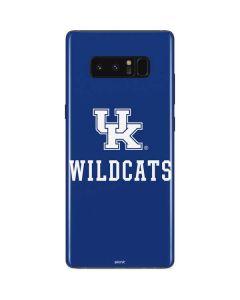 UK Kentucky Wildcats Galaxy Note 8 Skin