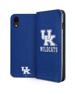 UK Kentucky Wildcats iPhone XR Folio Case