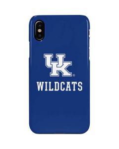 UK Kentucky Wildcats iPhone XS Max Lite Case