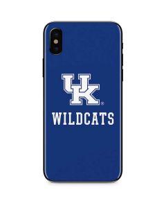 UK Kentucky Wildcats iPhone XS Max Skin