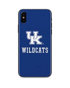 UK Kentucky Wildcats iPhone XS Skin